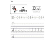 D is for Doctor: The Letter D Interactive
