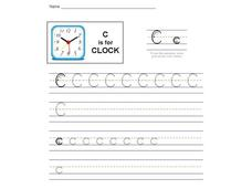 C is for Clock: The Letter C Interactive