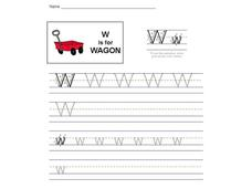 W is for Wagon: The Letter W Interactive