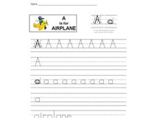 A is for Airplane: The Letter A Interactive