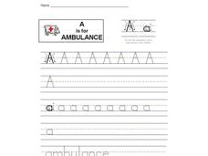 A is for Ambulance: The Letter A Interactive