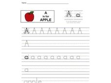 A is for Apple: The Letter A Interactive