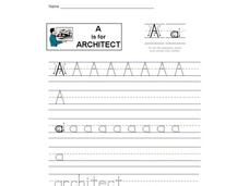 A is for Architect: The Letter A Interactive