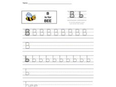 B is for Bee: The Letter B Interactive