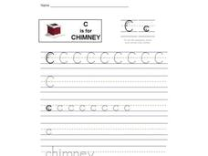 C is for Chimney: Letter Cc Interactive