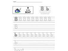 B is for Boat: The Letter B Interactive