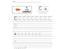 C is for Carrot: Letter Cc Interactive