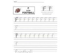 F is for Football Interactive