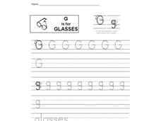 G is for Glasses Interactive