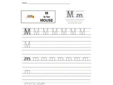 M is for Mouse: Letter Mm Interactive