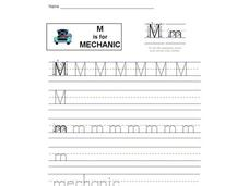 M is for Mechanic Interactive