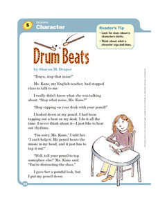 Drum Beats Worksheet