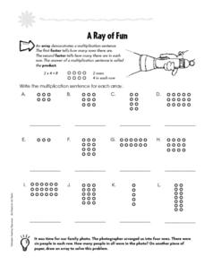 A Ray of Fun Worksheet
