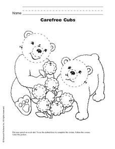 Carefree Cubs Worksheet