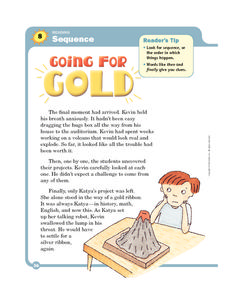 Going for Gold Worksheet