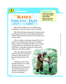 Kate's Fishing Trip Worksheet