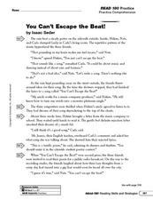 You Can't Escape the Beat!: Making Predictions Worksheet