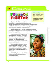 Freedom Fighter Worksheet