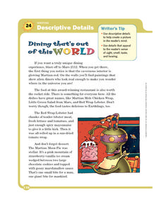 Dining That's Out of this World Worksheet