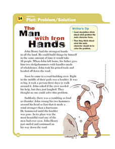 The Man with Iron Hands Worksheet