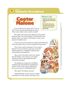 Cooter Malone Worksheet