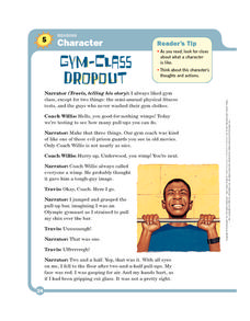 Gym-Class Dropout Worksheet