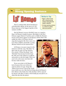 Lil' Romeo Worksheet
