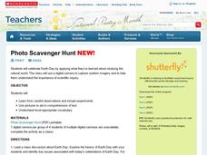 Photo Scavenger Hunt Lesson Plan