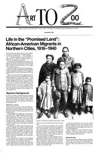 Art to Zoo: Life in the Promised Land: African-American Migrants in Northern Cities, 1916-1940 Lesson Plan