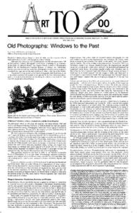 Old Photographs: Windows to the Past Lesson Plan