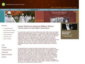 Latino Patriots in American Military History Lesson Plan