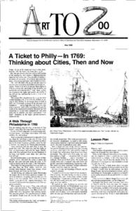A Ticket to Philly—In 1769: Thinking about Cities, Then and Now Lesson Plan