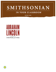 Abraham Lincoln:  The Face of War Lesson Plan