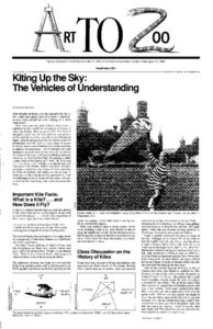 Art to Zoo: Kiting Up The Sky: The Vehicles of Understanding Lesson Plan