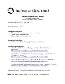 Caribbean Beats and Blends:  A Global Sound Lesson Lesson Plan