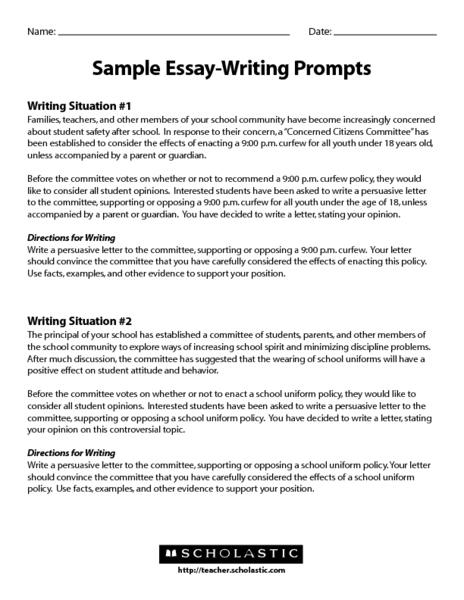 Writing an admission essay 9th grade