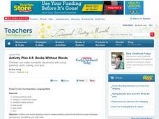 Books Without Words Lesson Plan