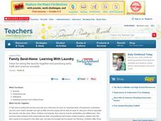 Learning with Laundry Lesson Plan