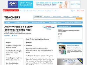 Sunny Science: Feel the Heat Lesson Plan