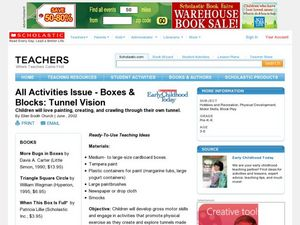Boxes & Blocks: Tunnel Vision Lesson Plan