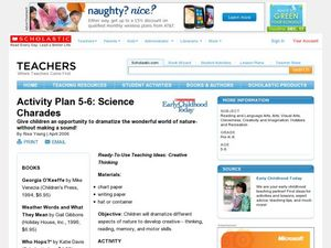 Science Charades Lesson Plan