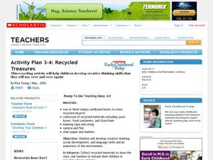 Recycled Treasures Lesson Plan