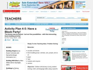 Have Block Party! Lesson Plan