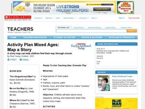 Map a Story Lesson Plan