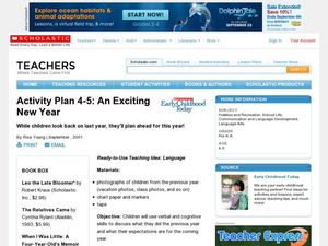 An Exciting New Year Lesson Plan