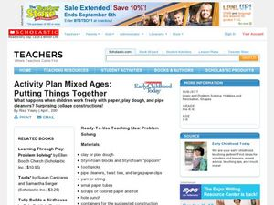 Putting Things Together Lesson Plan