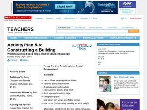 Constructing a Building Lesson Plan