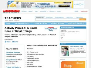 A Small Book of Small Things Lesson Plan