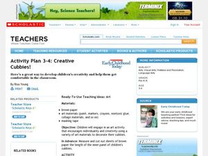 Creative Cubbies Lesson Plan
