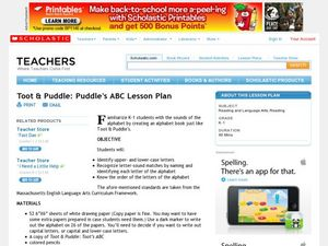 Toot & Puddle: Puddle's ABC Lesson Plan Lesson Plan